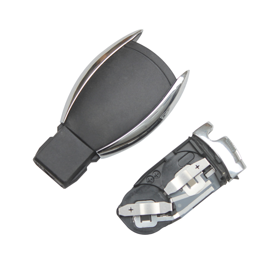 Smart Key Shell 4-Button with the Plastic Board for Benz