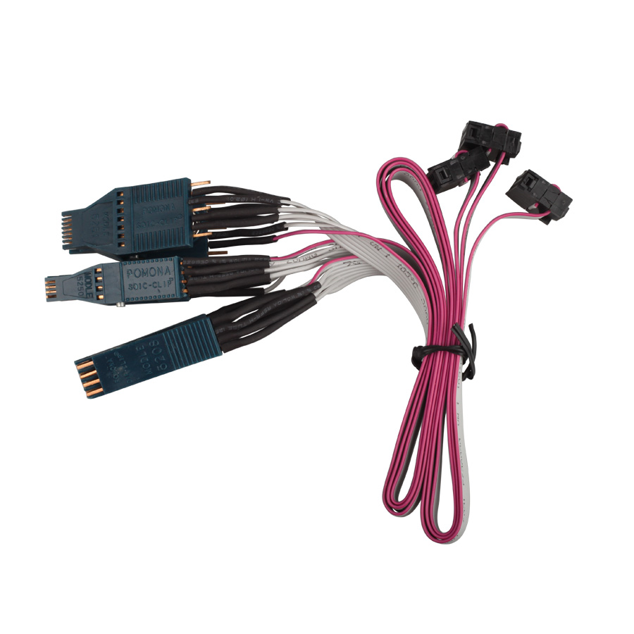 NO. 42 Cable EEPROM DIP-8CON NO. 43 Cable EEPROM SOIC-14CON NO.44 Cable EEPROM SOIC-8CON for Jan Tacho Pro
