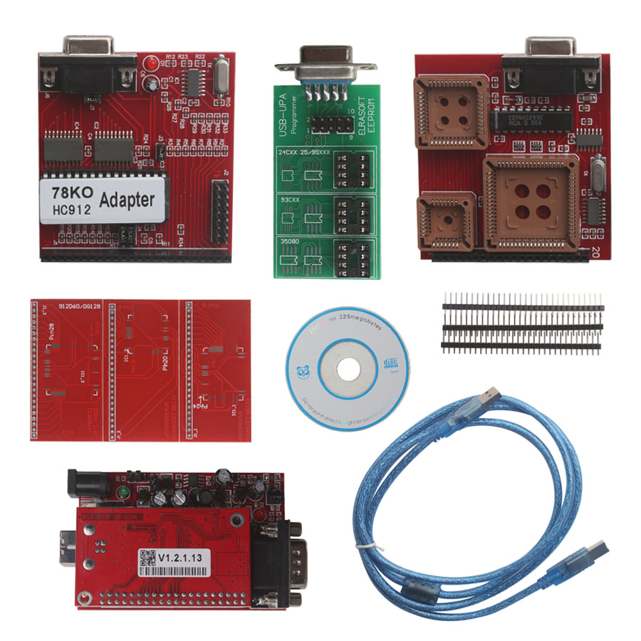 UPA USB Serial Programmer Full Package V1.3 Support MC9S12HY64/HA32