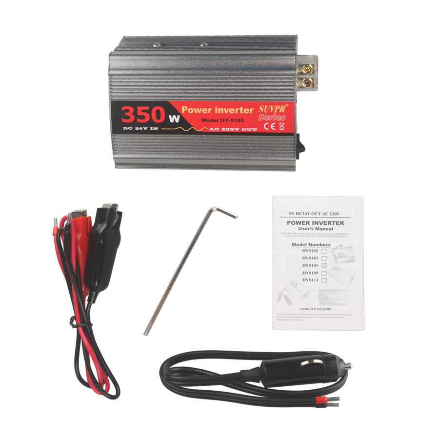 350W USB Car Interver DC 24V to AC 220V
