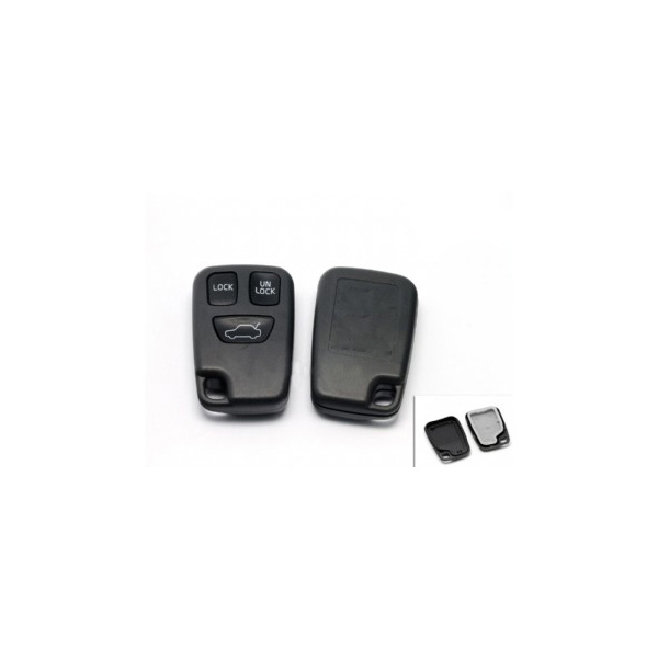 Remote Key Shell 3 Button For Volvo 10pcs/lot