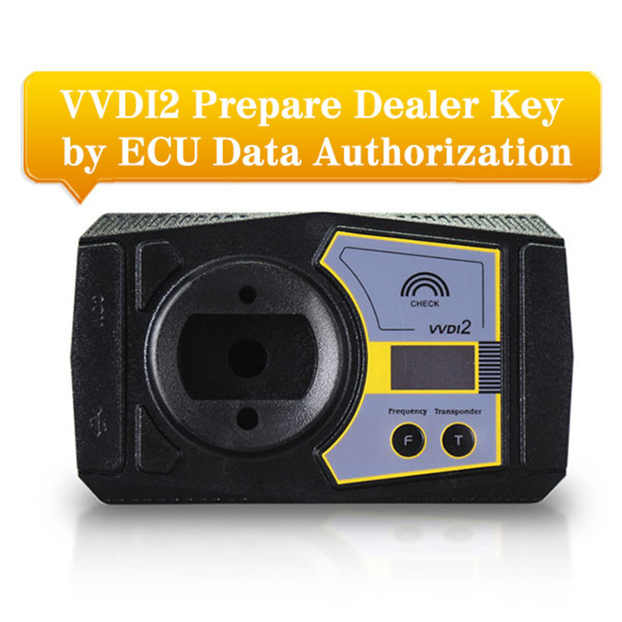 VAG Copy 48 Transponder by OBDII/Prepare Dealer Key by Ecu Data Function Authorization