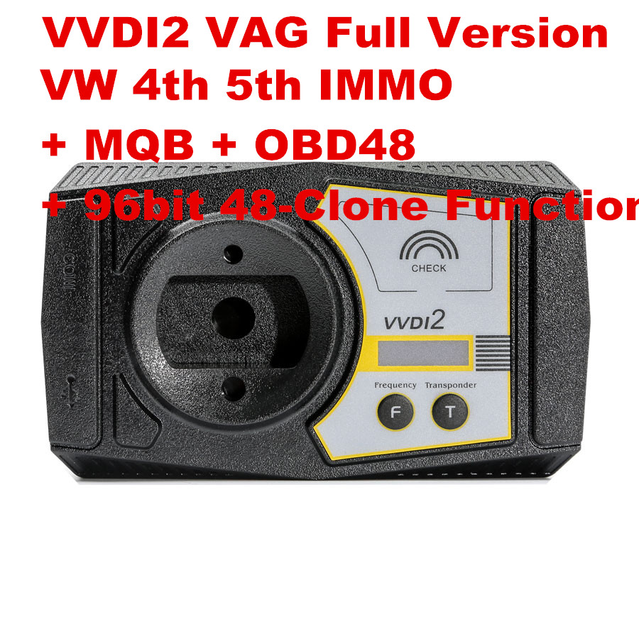 Xhorse VVDI2 VAG Full Version with VW 4th IMMO & 5th IMMO Function + MQB + OBD48 Function + 96bit 48-Clone Function