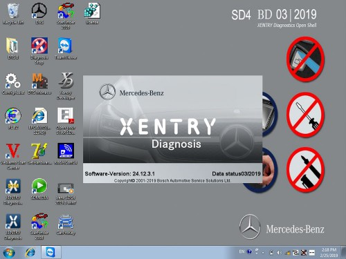V2019.3 MB SD Connect Compact C4 C5 SSD Super Engineer Software With DTS Monaco & Vediamo Fit on All Laptop