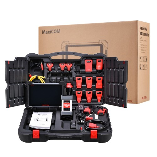 [UK Ship]Autel MaxiCOM MK908P AutomativeDiagnostic Tool(Same Functions as MaxiSys Elite) with ECU Coding & J2534 ECU Programming 30+ Service Function