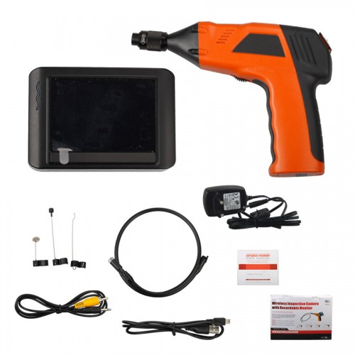 Wireless Inspection Camera with 3.5inch Monitor Digital Inspection Videoscope