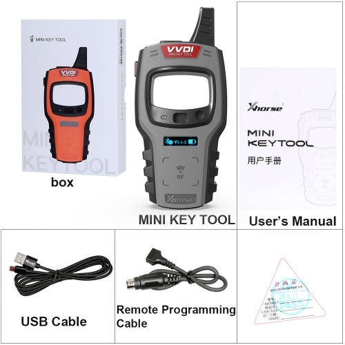[UK Ship]Xhorse VVDI Mini Key Tool Global Version Updated Remote Renew Function with 2 Free Wired Remote Keys