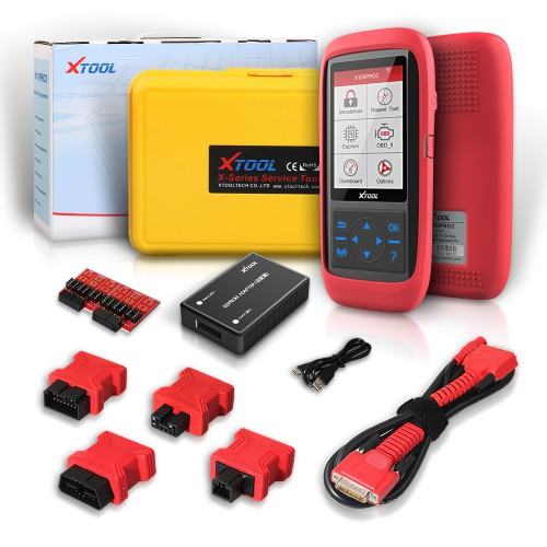 [6% Off €197 EU Ship] XTOOL X100 Pro2 OBD2 Auto Key Programmer with EEPROM Adapter Free Update with Multi-languages