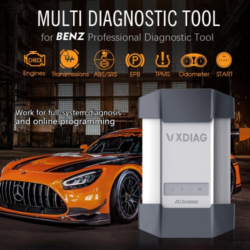 V2020.12 VXDIAG MB Star C6 Xentry Diagnosis VCI DoIP Passthrough Interface Support DPF Regeneration