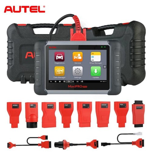 [UK Ship]Autel MaxiPro MP808K Diagnostic Tool OBD2 Scanner with Bi-Directional Control Key Coding (Same as DS808)