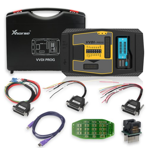 [UK Ship] Xhorse VVDI Prog V4.9.4 Super ECU Programmer with Free BMW ISN read function and NEC, MPC, Infineon