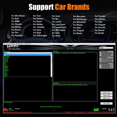 [UK Ship]MPPS V18.12.3.8 MAIN + TRICORE + MULTIBOOT with Breakout Tricore Cable Support Checksum and ECU Recovery Function