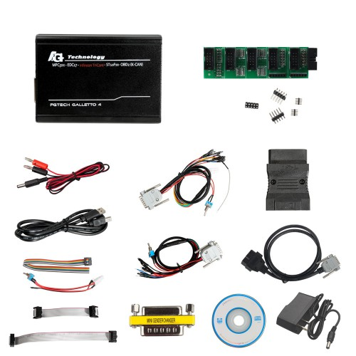 [EU Ship]Best Quality FGTech V54 Galletto 4 Master Version ECU Programmer Support BDM OBD Function