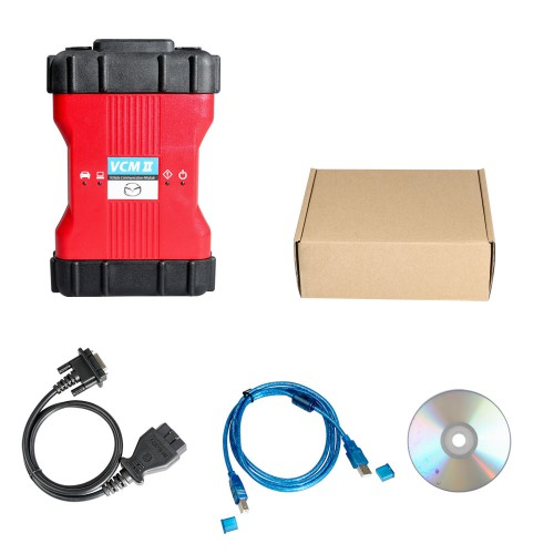 V106 IDS Mazda VCM II Mazda Diagnostic System Support Wifi( Need buy Wireless Card Seperately)