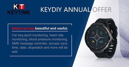 [6% Off €151]Original KEYDIY KD Smart Watch KD-SW02 Liquid Crystal Replace Your Car Key Generate