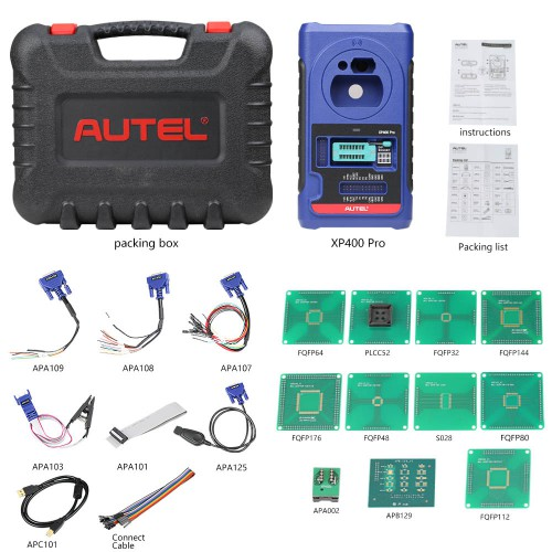 [EU/UK Ship]Autel XP400 Pro Chip and Key Programming Adapter for Autel IM508/IM608