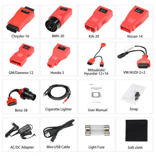 [EU Ship]Autel MaxiSys MS906BT EU Version Advanced Wireless Diagnostic Devices and ECU Coding Tool Update Online One Year for Free