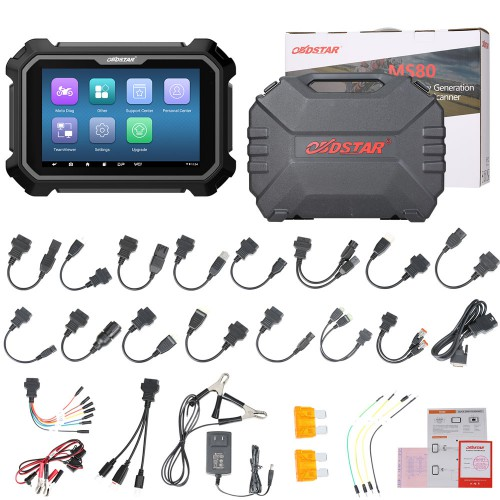 [6% Off €2144]OBDSTAR MS80 8 inch New Generation Motorcycle Diagnostic Scanner Support IMMO Function
