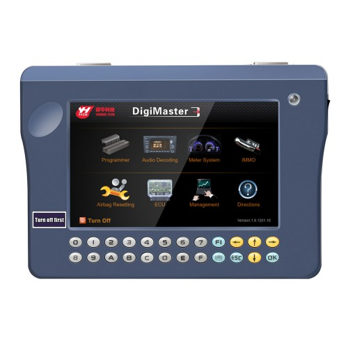 [EU/UK Ship]V1.8.2001.15 Yanhua Digimaster 3 Digimaster III Best Mileage Odometer Correction Tool with Unlimited Tokens