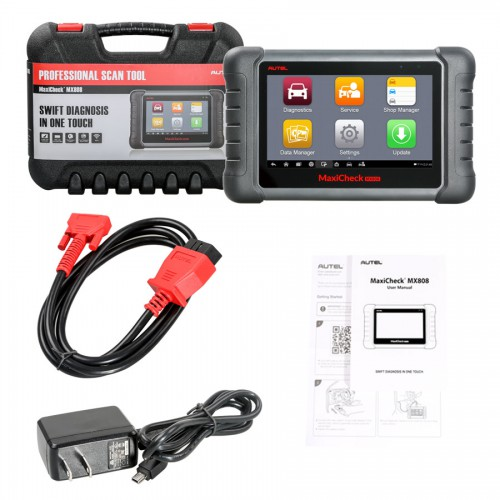 (3.28 Promotion)(UK Ship)Autel MaxiCheck MX808 Android All System Diagnostic & Service Tablet Scan Tool Support IMMO TPMS Update One Year for Free