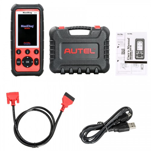 Autel MaxiDiag MD808 Four System Diagnostic Tool for Engine/ Transmission/ SRS and ABS Systems with EPB/ Oil Reset/ DPF/ SAS and BMS