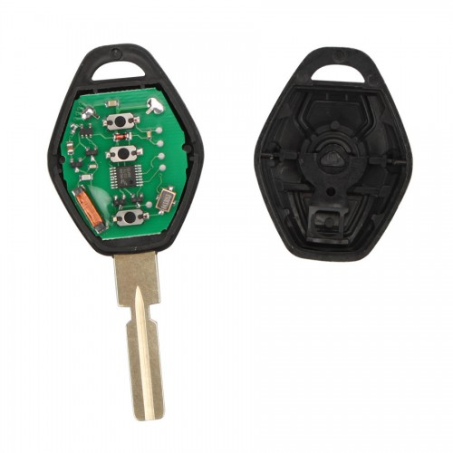Remote Key 3 Button 433MHZ HU58 for BMW EWS(With Key Shell and Iginition Chip)