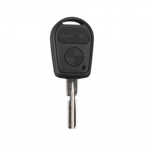 Transponder Key Shell 3 Button 4 Track for BMW 5pcs/lot