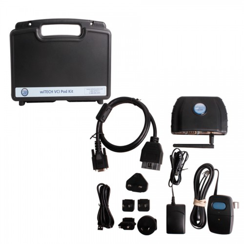 Original V13.03 WITECH VCI POD Diagnostic Tool for Chrysler Update Online Support Multi-language