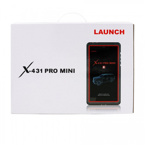 (UK Ship)Global Version Launch X431 Pro Mini Bluetooth with 2 Years Free Update Online Powerful than Diagun
