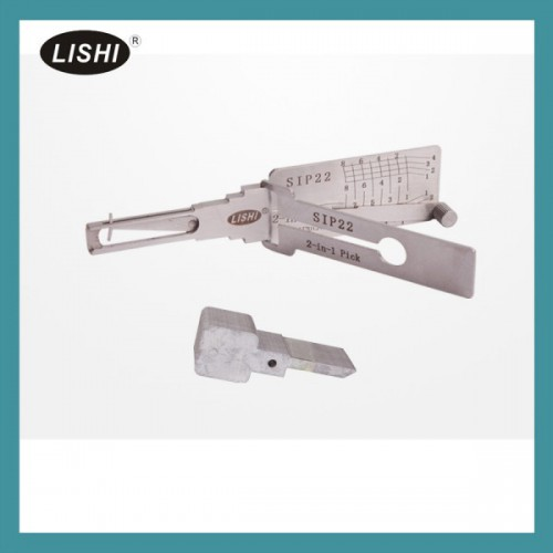 LISHI SIP22 2-in-1 Auto Pick and Decoder for Fiat Ferrari Maserati