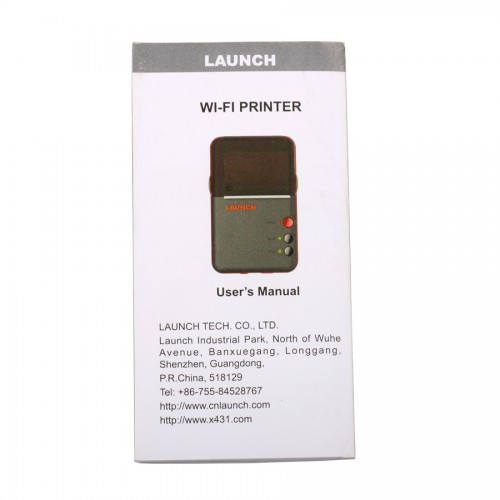 Launch Mini WiFi Printer for X431 V Pro / V Plus Pro/ V 8'' Tablet PC