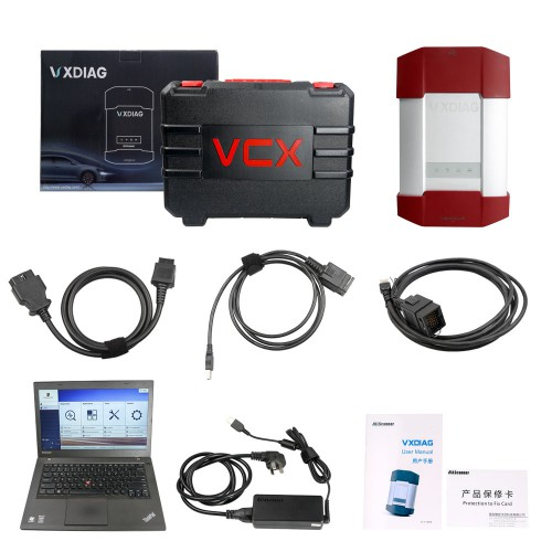 VXDIAG VCX-DoIP Porsche Piwis III V39.7+V38 Software with Developer Mode Plus Lenovo T440P Software Pre-installed Ready to Use
