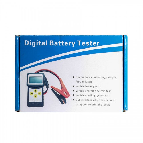 VXSCAN MICRO-200 12.11V Digital Car Battery Tester/Analyzer for 12 Volt Vehicles