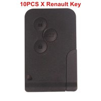 10pcs/lot Renault 3 Button Smart Key 433MHZ Ship Free Ship via DHL/Ywen