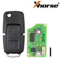 XHORSE XKTO10EN TOY.T Style(Flip-4BTN)  Wired Universal Remote Key Fob 4 Button  for VVDI Key Tool (English Version) 5pcs/lot