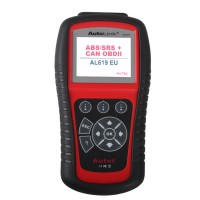 [UK Ship] AutoLink AL619 ABS SRS OBDII Diagnostic Tool with Multi-language Update Online