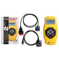 T79 Highend Auto Diagnostic Scan Tool OBDII Yellow Multilingual Updatable