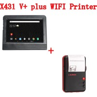 Launch X431 V+ Pro 3 10 Inch Tablet Scanner plus WiFi Printer