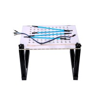 (UK Ship)LED BDM Frame with 4 Probes Mesh Full Kit for Kess Ktag Fgtech BDM100 ECU Programmer
