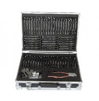 [UK Ship]LISHI 2 in 1 Auto Pick and Decoder Locksmith Kit Including 77pcs