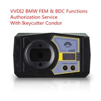 VVDI2 BMW FEM/BDC Key Programming Authorization Service