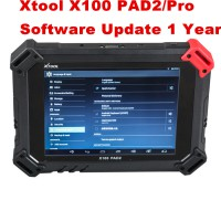 Xtool X100 Pad 2 Pro Update Service 1 Year Subscription after Two Years