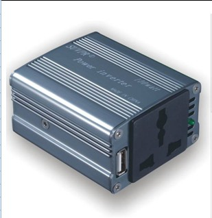 100W Automotive USB Inverter DC12V to AC 220V