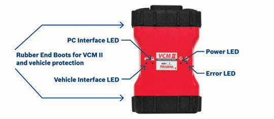 Ford VCM II instruction
