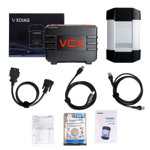 V2020.12 VXDIAG MULTI Diagnostic Tool for BMW and BENZ With 1TB Hard Drive for BMW/BENZ 2 in 1