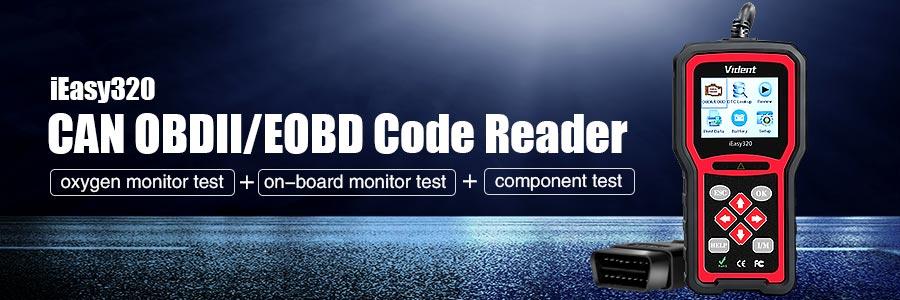 Vident iEasy320 code reader