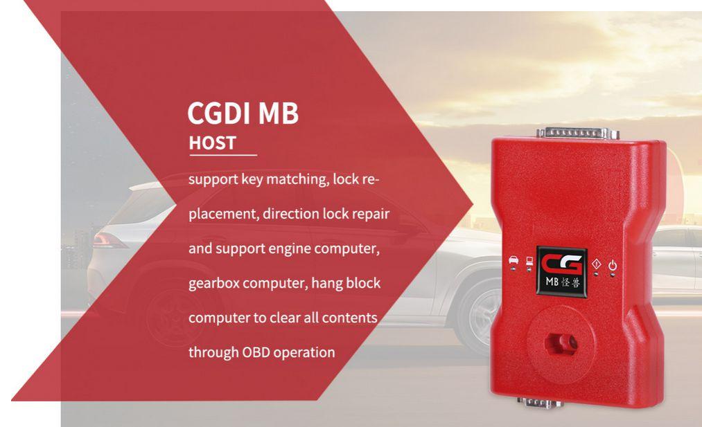 CGDI Prog MB key programmer Host