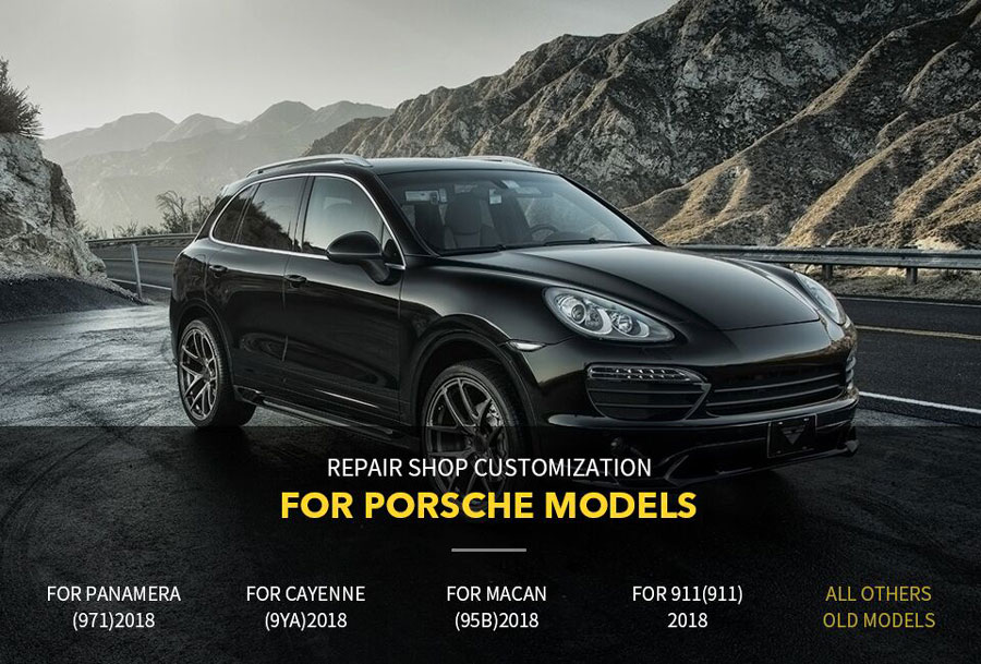 vxdiag porsche piwis 3 car list