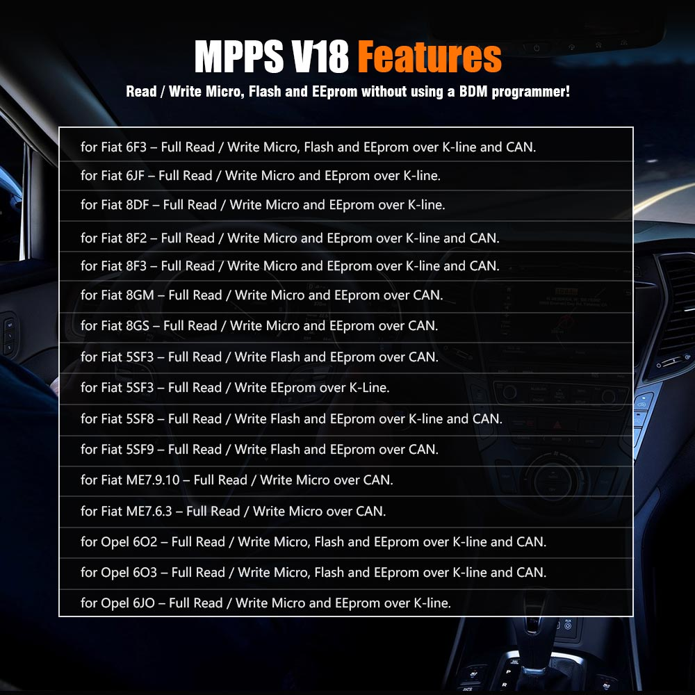 mpps v18 coverage list