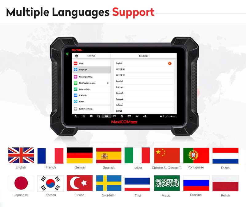 mk908p multiple languages support